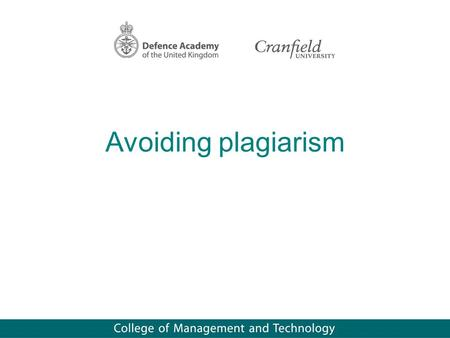 avoiding plagiarism and academic integrity essay In order to write credible and consistent academic paper, a scholar must always uphold integrity by indicating all the sources of information used in the research.