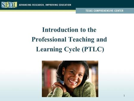 1 Introduction to the Professional Teaching and Learning Cycle (PTLC)