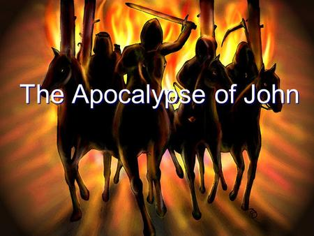 The Apocalypse of John. The Last Book of the Canon Revelation brings the New Testament corpus to a fitting close. Revelation brings the New Testament.