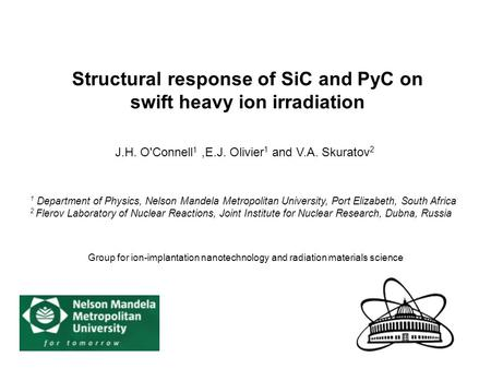 Structural response of SiC and PyC on swift heavy ion irradiation