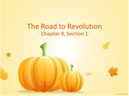 The Road to Revolution Chapter 9, Section 1. Review What is Manifest Destiny? Why did most Anglo settlers come to Texas? What did Spain want Anglo settlers.