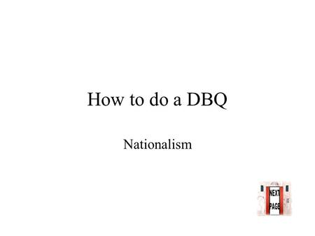 nationalism dbq Arsheen memon ap us history dbq imperialism was a significant factor in shaping the imperialism – dbq the growing sense of nationalism in the united states.