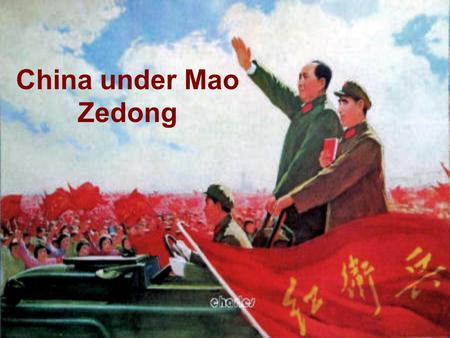China under Mao Zedong. Timeline 1893 Mao Zedong was born on December 26th. 1911 Chinese Revolution of 1911. 1912 Qing formally abdicate throne, ending.