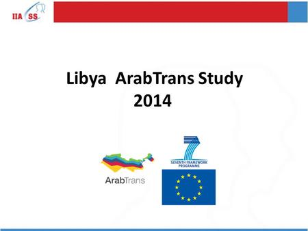 Libya ArabTrans Study 2014. 2. Generally speaking, do you think most people are trustworthy or not?