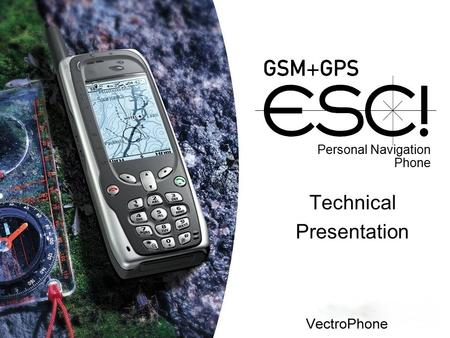 Personal Navigation Phone Technical Presentation.