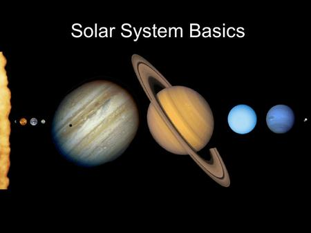 an overview of the origin of the solar system