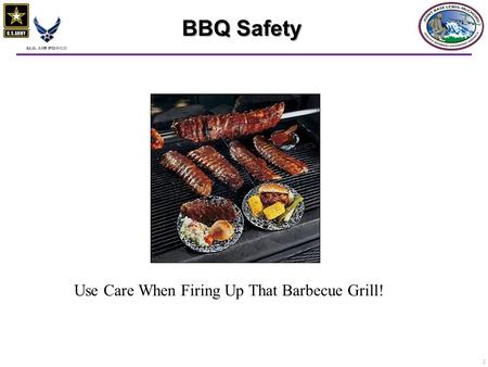 1 BBQ Safety Use Care When Firing Up That Barbecue Grill!