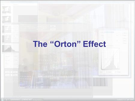 "The ""Orton"" Effect. Here's the starting image. First step is to duplicate the layer, just drag the 'background' layer to the new layer icon."