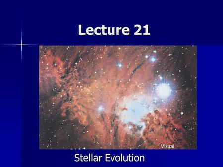 Lecture 21 Stellar Evolution. Announcements Homework 11 due now Homework 11 due now Homework 12 – Due Monday April 30 Homework 12 – Due Monday April 30.