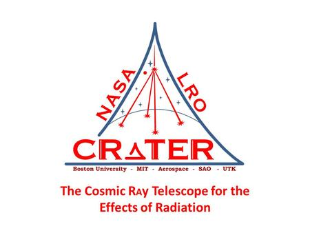 The Cosmic R A y Telescope for the Effects of Radiation.
