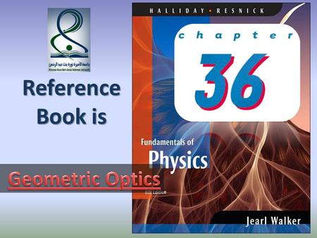Reference Book is Geometric Optics.