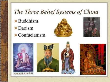 an introduction to taoism founded by lao tse a contemporary of confucius The life of lao tse tung he was a slightly older contemporary of confucius by the followers of lao tzu lao tzu founded taoism.