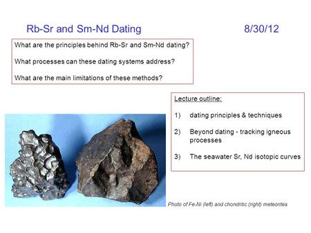 Sm-nd dating ppt
