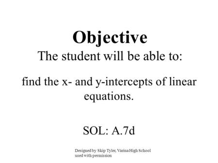 how to find x intercept of a polynomial