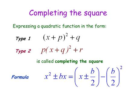 how to solve equations with squares