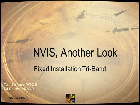 Fixed Installation Tri-Band
