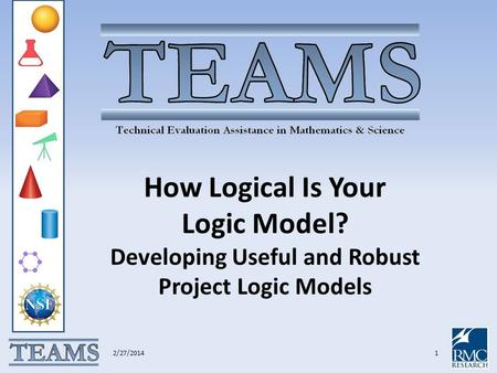 How Logical Is Your Logic Model