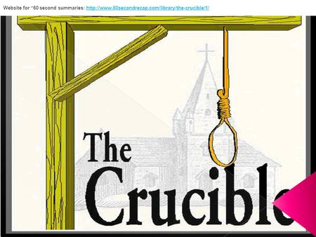 a comparison of the characters in the crucible by arthur miller and the scarlet letter by nathaniel  The scarlet letter vs the crucible essay 703 words | 3 pages the edgy tale of the scarlet letter by nathaniel hawthorne is comparable in many ways to arthur miller.