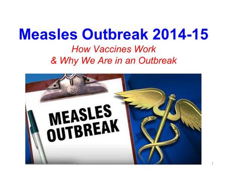 Measles Outbreak How Vaccines Work & Why We Are in an Outbreak