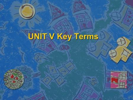 UNIT V Key Terms. Biotechnology n Using living organisms to produce or change plan or animal products.