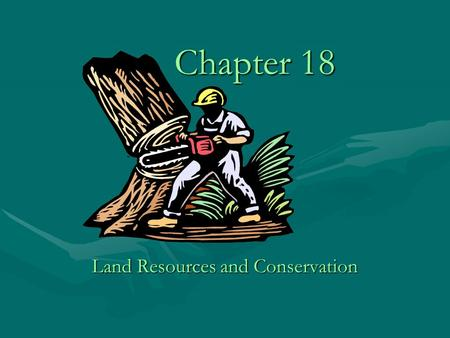Chapter 18 Land Resources <strong>and</strong> <strong>Conservation</strong> Mojave Desert.