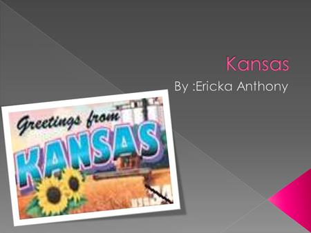  The governor of Kansas is John Hanna  The cap ital of Kansas is Topeka  A landmark Mrs. John B. Scroggs Residence/St. John's OrphanageMrs. John B.