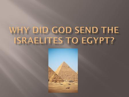 2300 Rise of the Egyptian Civilization 2200 Menes was the Pharaoh 2100 King Khufu built the Great pyramids of Giza.