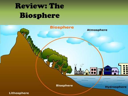 Review: The Biosphere.