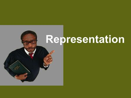 Representation Representation, for the purpose of this discussion, means knowingly making, with intent to influence, a communication (orally or in writing)