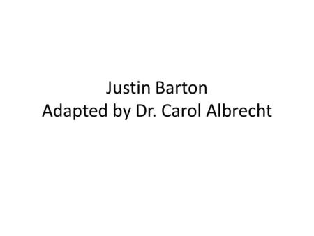 Justin Barton Adapted by Dr. Carol Albrecht. Needs Assessment Attitudes of students Pornography use and available services for treatment on campus.
