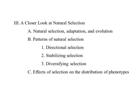 natural selection and patterns of evolution The change topics unit covers the topics of evolution, natural selection, life and human origins, earth system history, and ecological succession this unit includes an interactive and engaging.