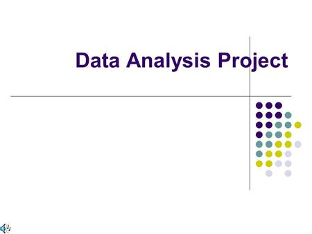 Data Analysis Project.