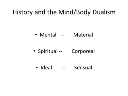 history of mental health by mind History of the word the  mental health just like the body, a mind can be healthy the measure of this is called mental health according to the .