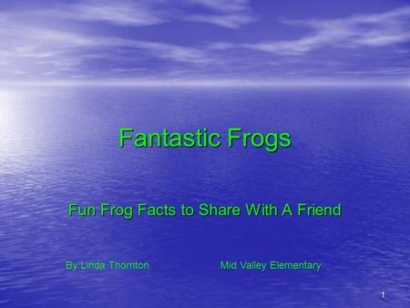 Fun Frog Facts to Share With A Friend