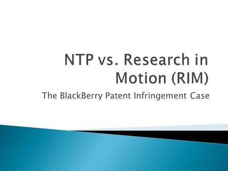 patent infringement case study