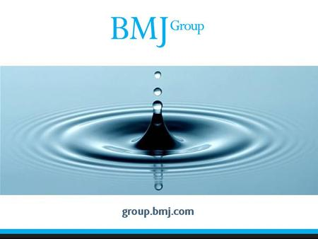 BMJ Group Mobile Applications and doc2doc Wednesday 15 th June 2011.