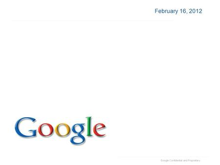 February 16, 2012. Google Apps for Government Peter Kassab Google Apps Specialist.