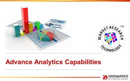 Advance Analytics Capabilities. Analytics - Pillars & Offerings.