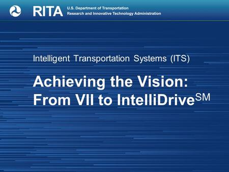 Original vision for Vehicle Infrastructure Integration (VII):