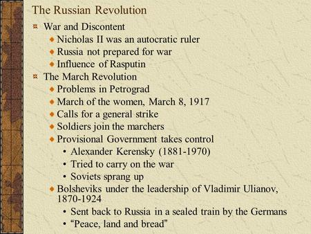 """a description of the russia revolution as a true political revolution Keywords: cultural hegemony, religious utopianism, russian revolution  and  clear political leadership to a genuine but directionless revolution """"from below   """"an overview of liberation theology in orthodox russia,"""" hts teologiese."""