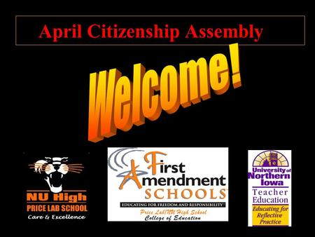 April Citizenship Assembly. CITIZENSHIP: Freedom of Speech.