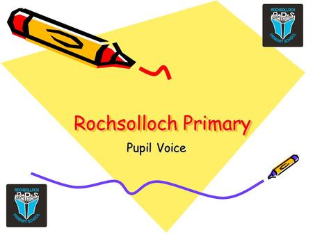 Rochsolloch Primary Pupil Voice. We asked… Do you think there is an adult in the school whom you could speak to if you had a worry?
