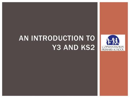AN INTRODUCTION TO Y3 AND KS2.  Miss Perkins  Mrs Wooldridge NEXT YEARS TEACHERS IN Y3 WILL BE…