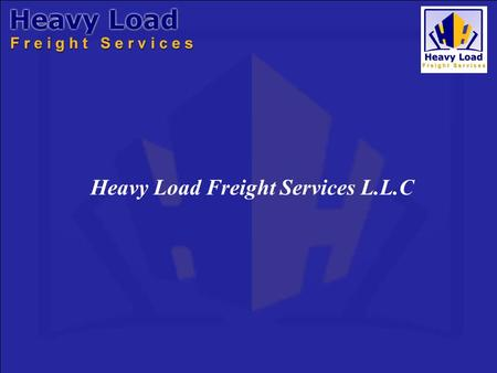 Heavy Load Freight Services L.L.C