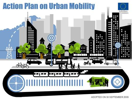 EUROPEAN COMMISSION Action Plan on Urban Mobility ADOPTED ON 30 SEPTEMBER 2009.