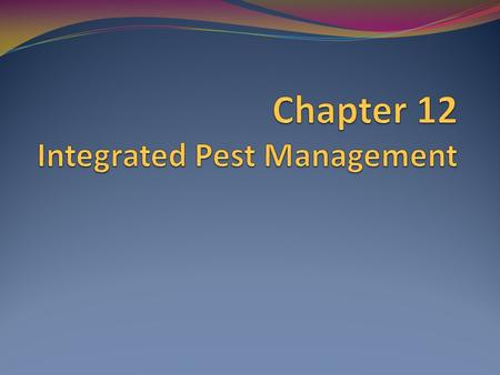 You Can Prevent This Implementing an integrated pest management (IPM) program. Working with a pest control operator (PCO)