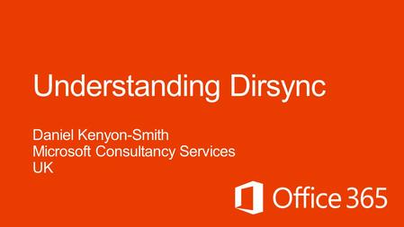 RequirementsDeployment Options 2 3 Dirsync Overview 1 Understanding Synchronization 4.