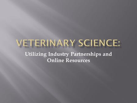 Utilizing Industry Partnerships and Online Resources.