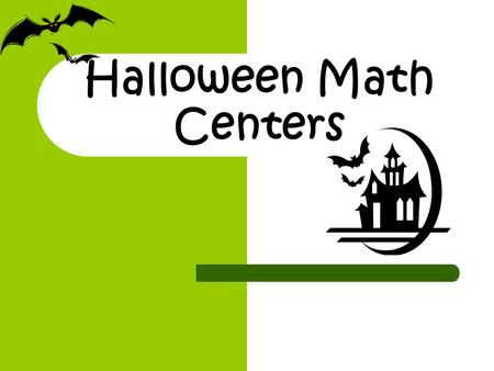 Halloween Math Centers. Pumpkin Nim Directions: Players take turns placing one pattern block piece at a time until the pumpkin is covered. The person.
