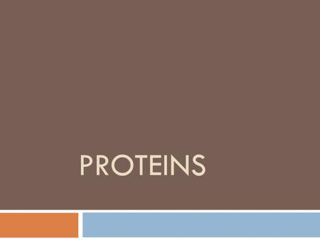 PROTEINS. proteins  Proteins are polymers composed of sub-units called amino acids that are linked by peptide aminde bond.